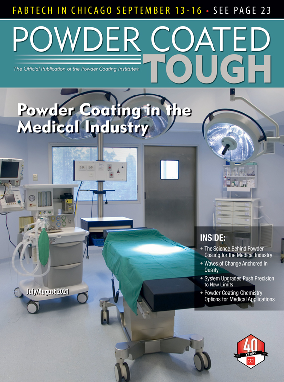 Powder Coated Tough's July 2020 Magazine Cover: Taking Temperatures to New Highs (and Lows)